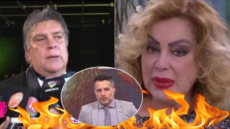 La furia de Luis Ventura contra Beatriz Salmón