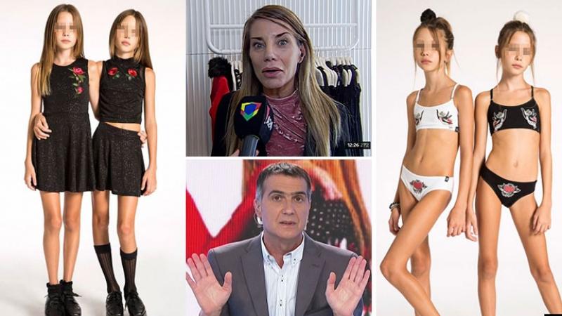Picante debate entre Antonio Laje y la responsable de la polémica campaña publicitaria con nenas súper delgadas