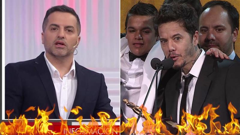 """¡Le cortó el rostro! De Brito, indignado con Sebastián Ortega: """"Me ignoró, lo saludé y me dio vuelta la cara"""""""