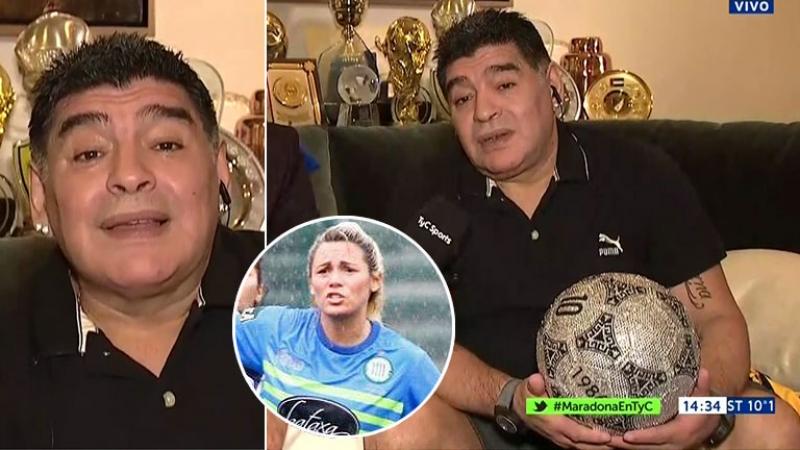 Diego Maradona confirmó su separación de Rocío Oliva