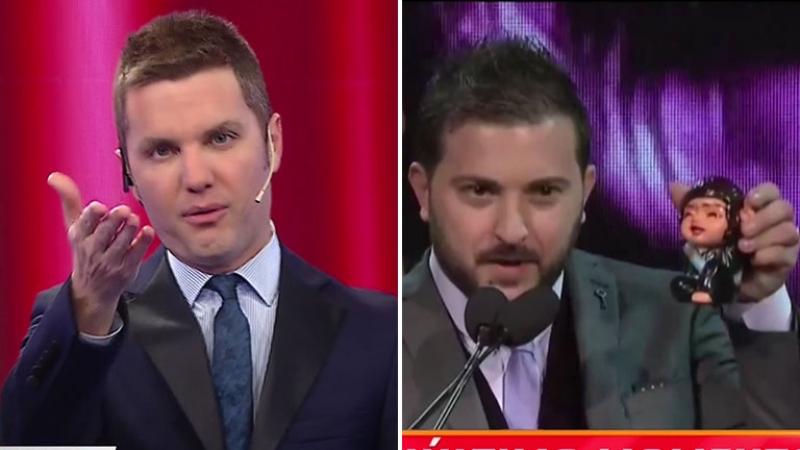 Santiago del Moro criticó a Diego Brancatelli por su irónico regalo a Jorge Lanata en los Martín Fierro