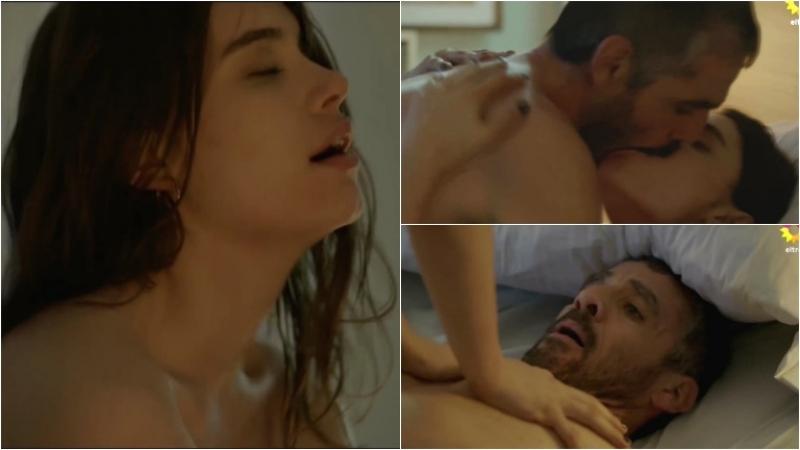 La escena súper hot de Germán Palacios y Eva de Dominici en La fragilidad de los cuerpos. Foto: Captura