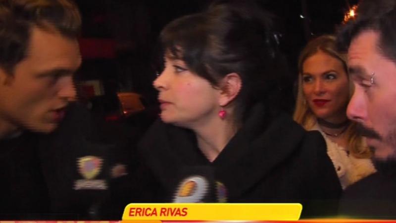 El enojo de Érica Rivas con el notero de Infama: