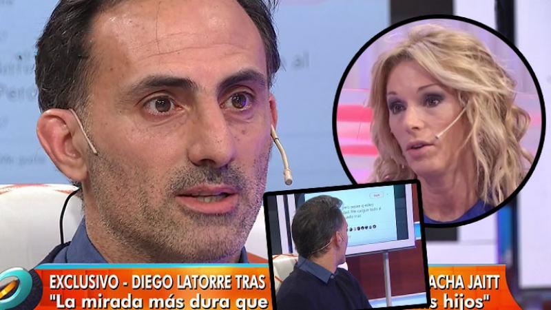 El fuerte tweet de Yanina Latorre mientras Diego estaba en vivo en Intrusos