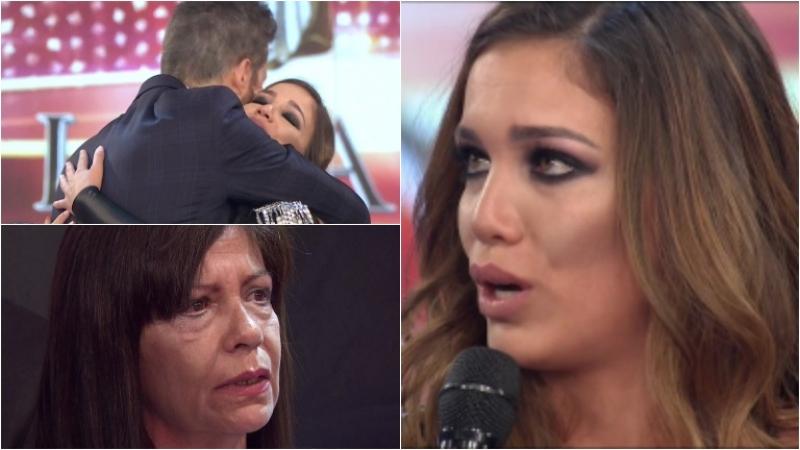 La emoción de Rocío Robles en su debut en Bailando 2017
