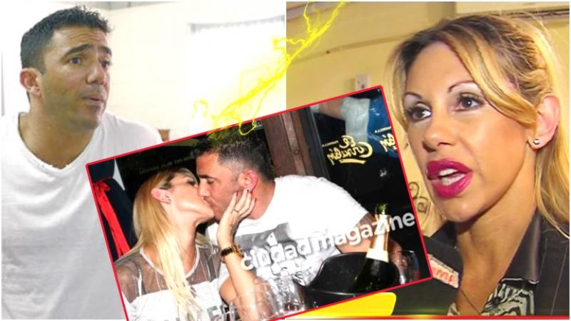 Mónica Farro, en crisis con Juan Suris a pocos días de su excarcelación (Fotos: Web, Captura y Ciudad Magazine)