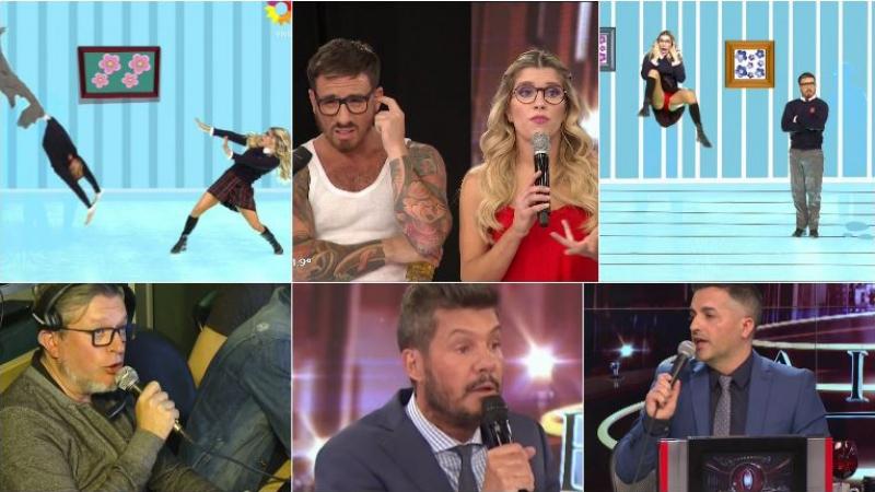 El polémico ritmo libre de Laurita Fernández y Fede Bal en ShowMatch. Foto: Captura