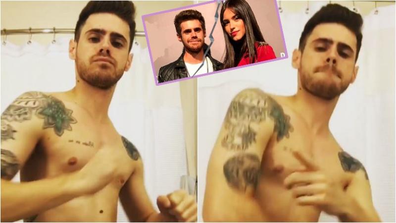 Gastón Soffritti y su baile sexy en Instagram tras anunciar su separación de Agustina Agazzani