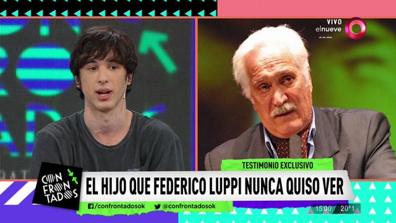 Habló el hijo de Federico Luppi