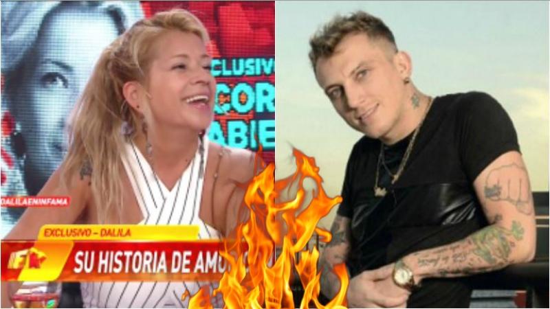 Dalila contó en Infama que tuvo un affaire con El Polaco: Hubo un cachondeo, pero no me voy ni en pedo a La Plata por...