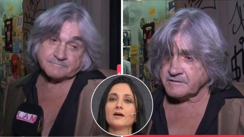 Lito Cruz ante las acusaciones de violencia género de su exmujer, Patricia Perrotta