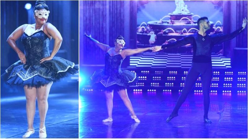Gladys La Bomba Tucumana bailó clásico en ShowMatch
