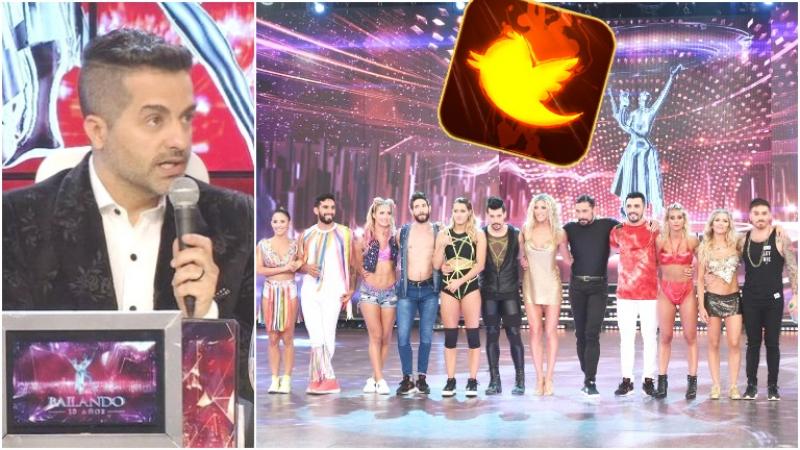 Los picantes tweets de Ángel de Brito en pleno duelo de pop latino en ShowMatch