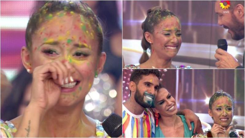 Las lágrimas de Lourdes Sánchez al quedar como semifinalista de Bailando 2017