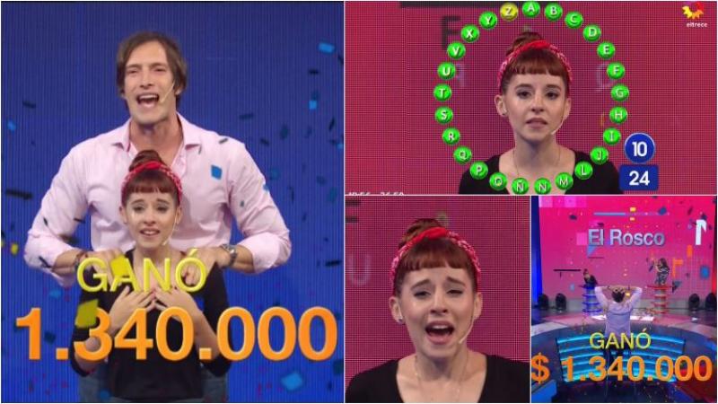 Martina Barraza ganó Pasalabra y se llevó 1 millón 300 mil pesos