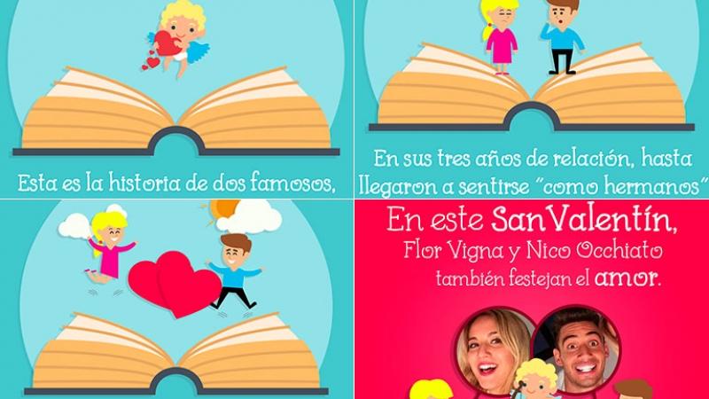 Día de los Enamorados: conocé la dulce y auténtica historia de Flor Vigna y Nicolás Occhiato