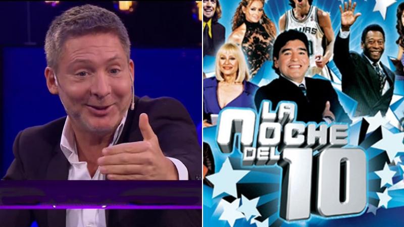 Desopilante anécdota de Suar con Maradona en La Noche del 10