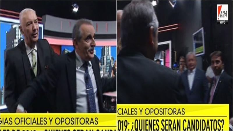 Eduardo Feinmann y Guillermo Moreno casi terminan a las piñas en el programa de Mauro Viale
