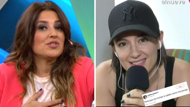 Maju Lozano levantó un móvil en vivo con Malena Pichot