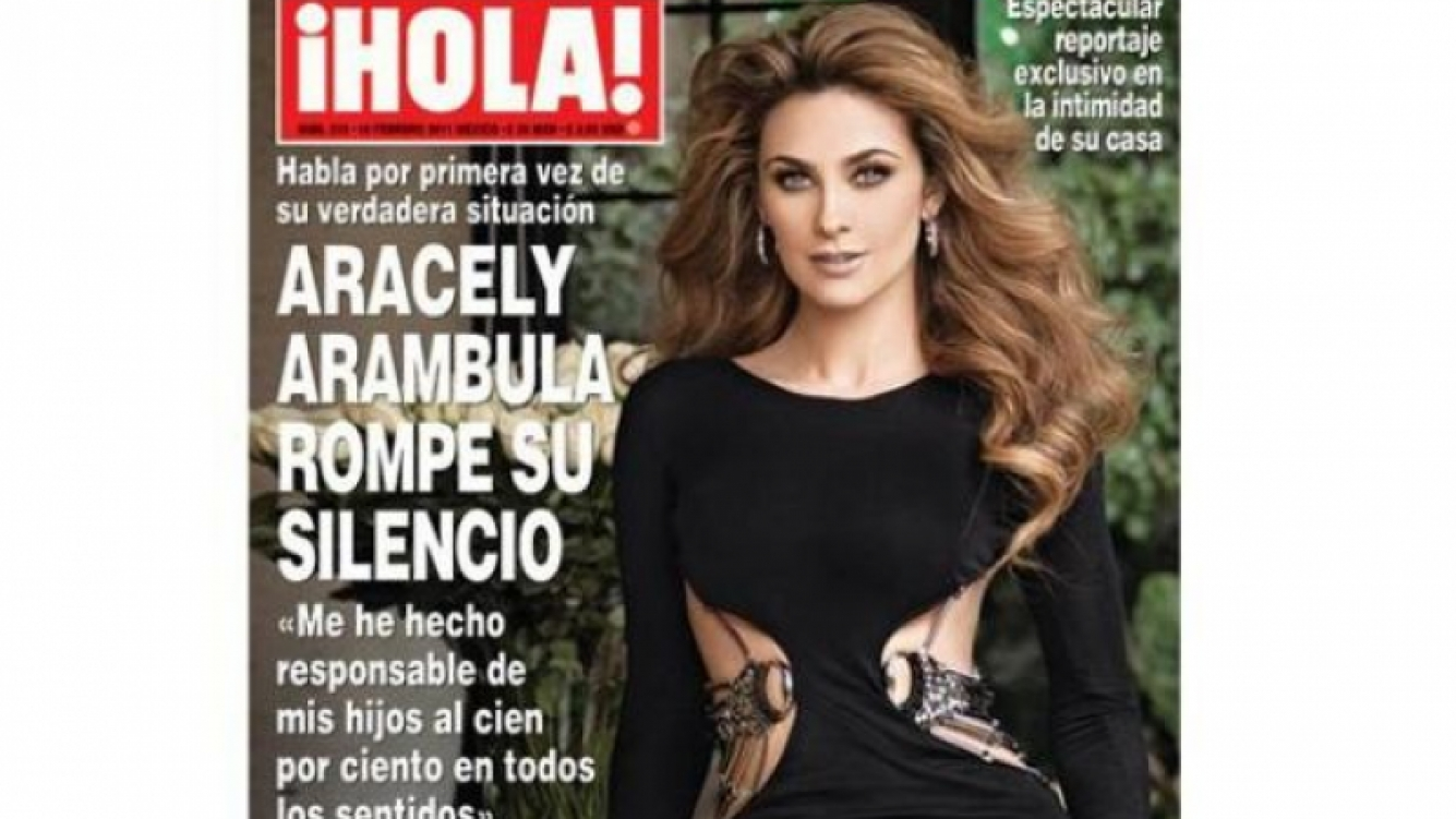 Aracely Arambula destrozó a Luis Miguel. (Foto: ¡Hola! México)