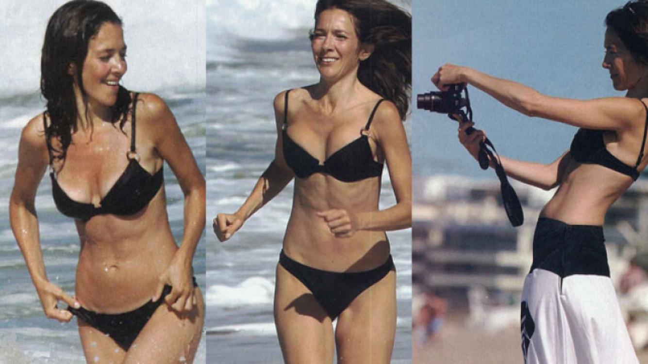 Cristina Pérez, la conductora de Telefe, sensual en sus vacaciones. (Foto: revista Pronto)