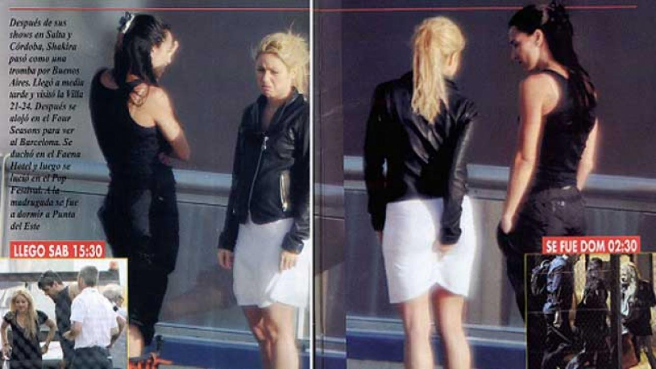 La peor foto de Shakira. (Foto: Revista Pronto).