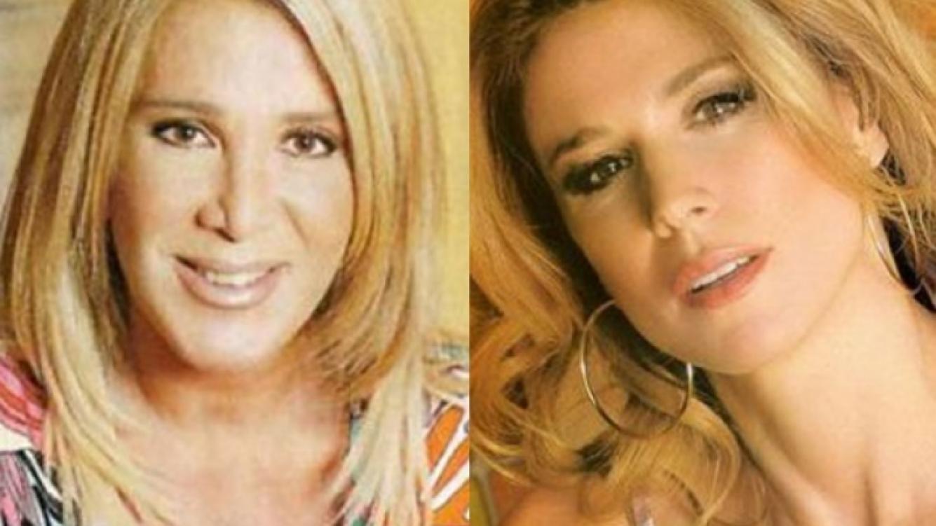 Reina Reech y Flavia Palmiero se disputan el cetro infantil. (Fotos: Web)