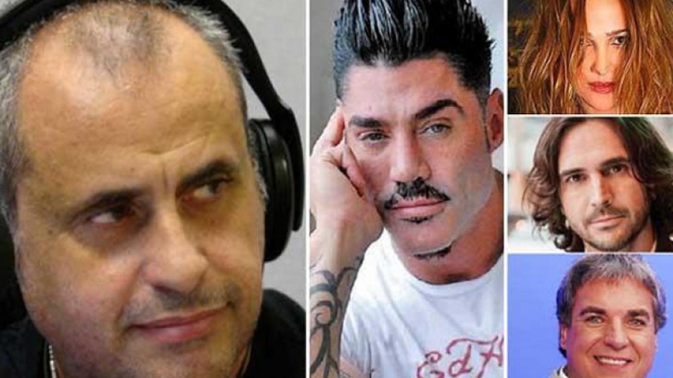 Jorge Rial indignado con Fort, Lozano, Montero y Monti. (Foto: Web).