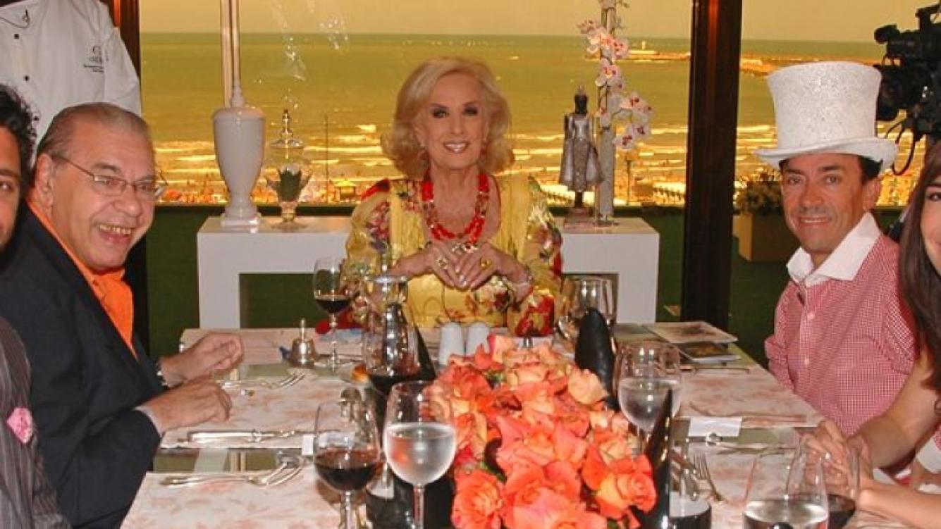 Mirtha Legrand desde Mar del Plata. (Foto: América)