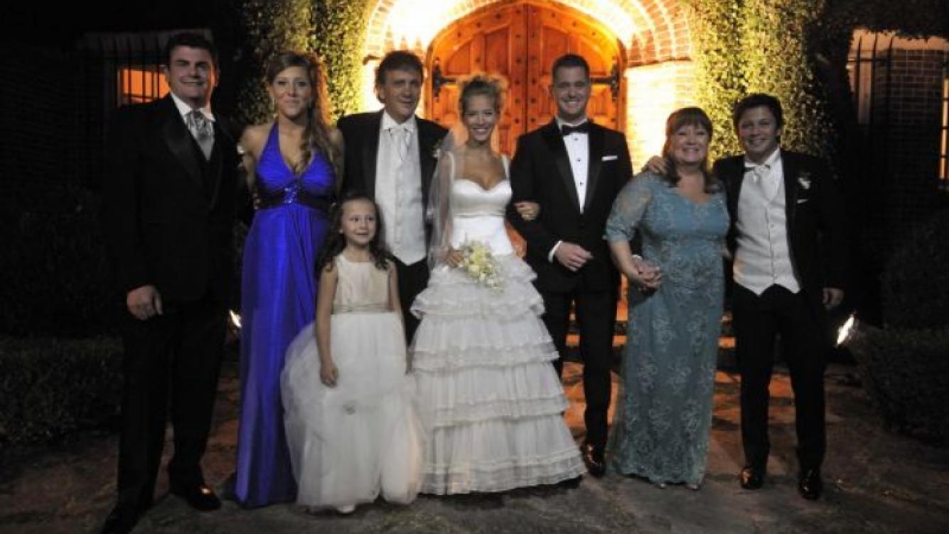 El casamiento de Luisana Lopilato y Michael Bublé. (Foto: Ruiz y Russo)
