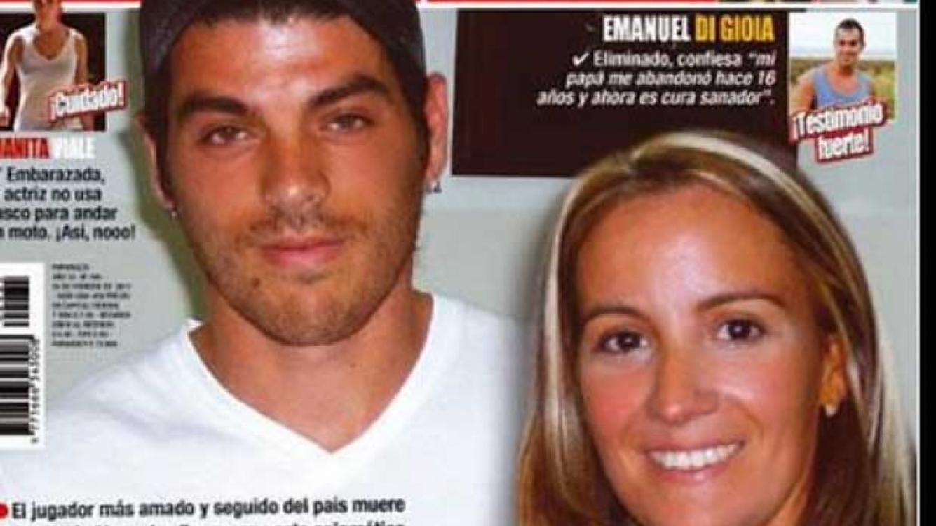 Cristian U. y su novia. (Foto: Revista Paparazzi).