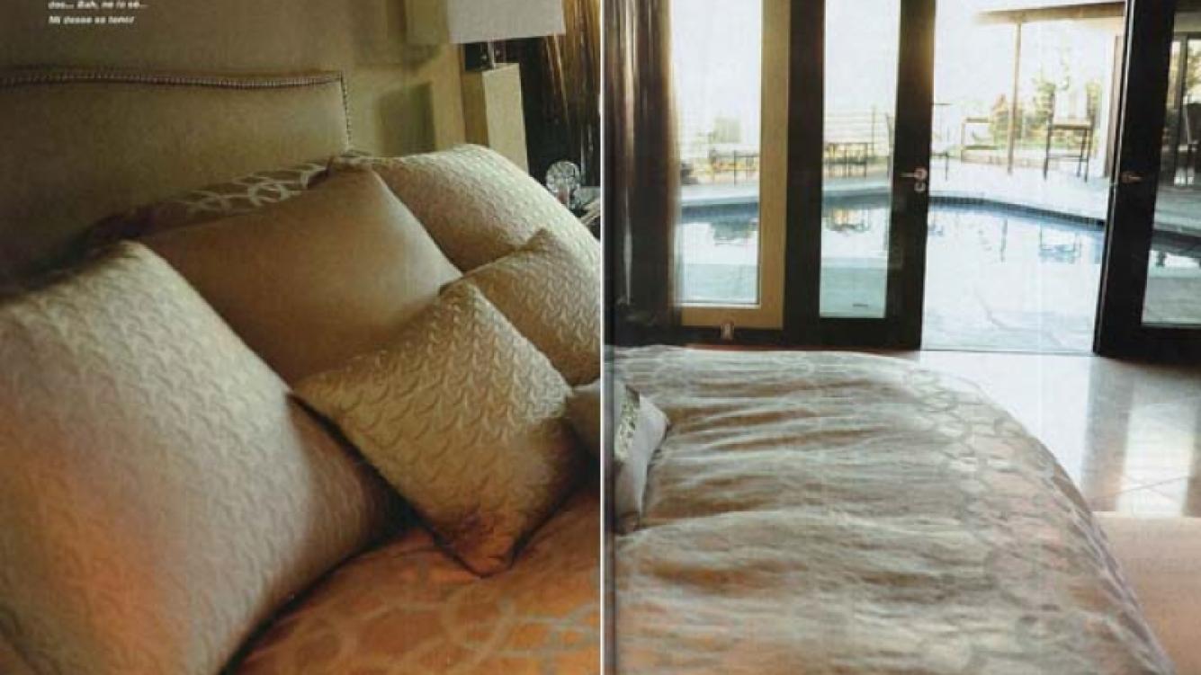La suite con vista a la terraza. (Foto: revista Gente)