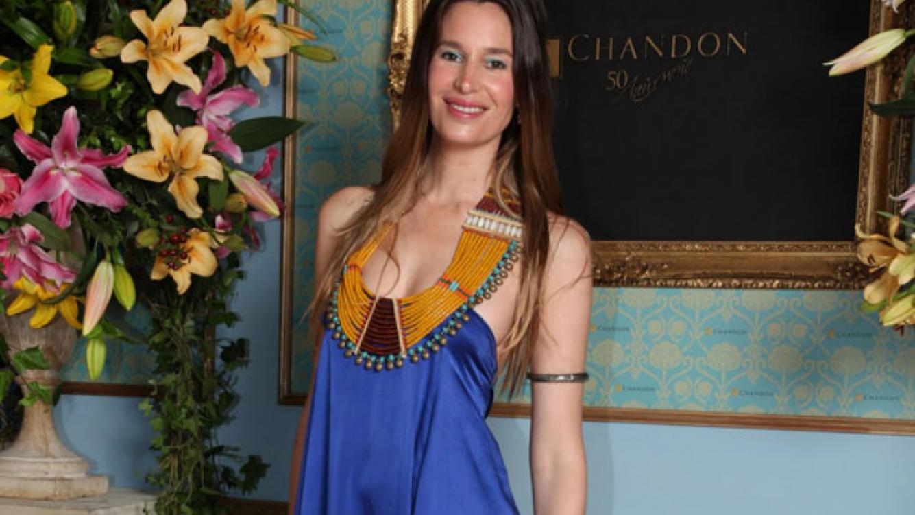 Dolores Barreiro, embarazada de su cuarto hijo. (Foto: Web)