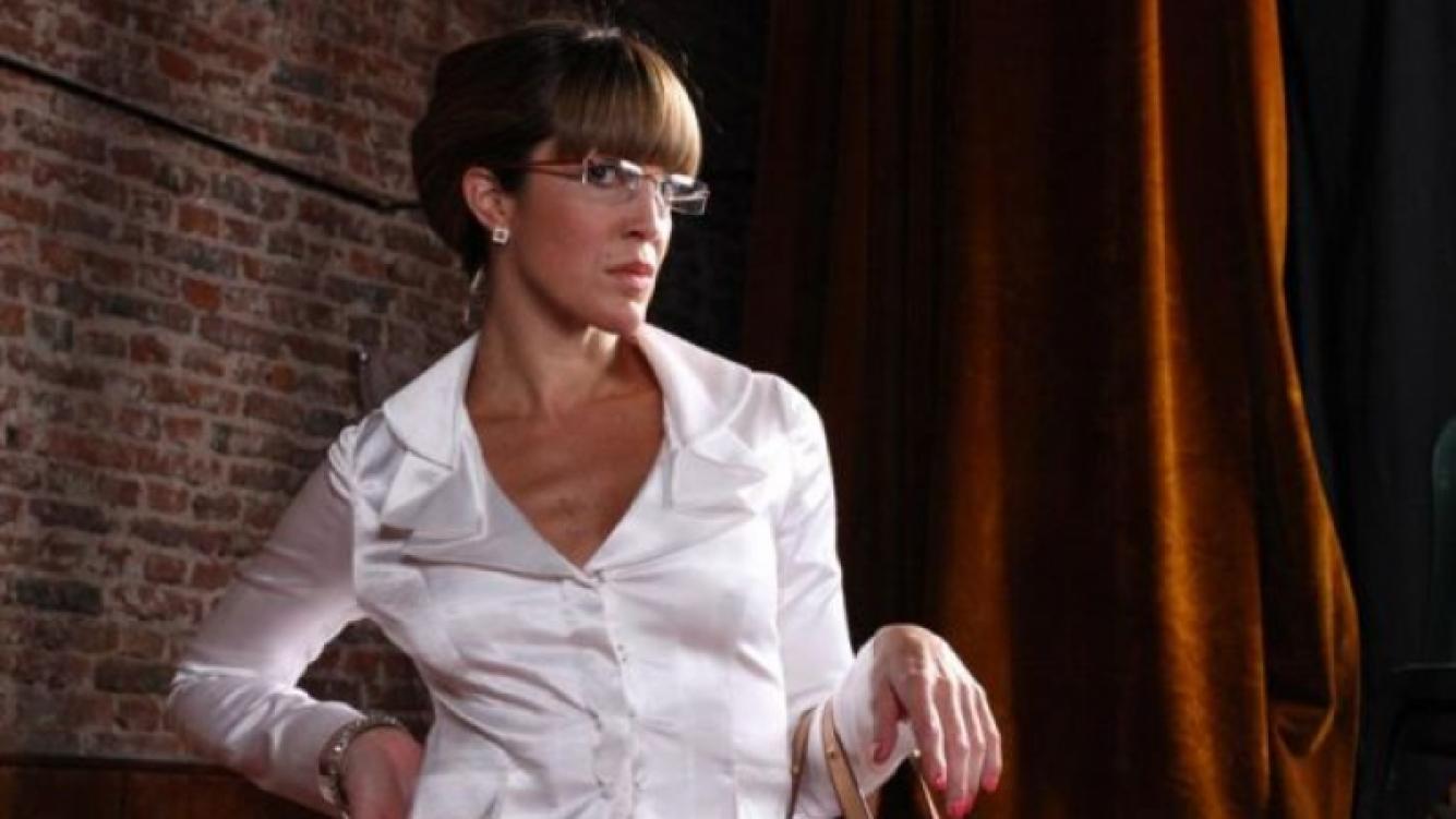 Miriam Lanzoni interpreta a Liz, la secretaria de Pinti y Moria. (Foto: cruzadaslapelicula.com)
