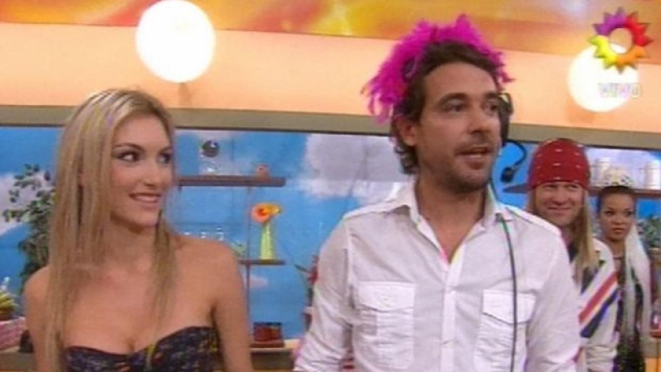 Sofía Maccagi  y Pedro Alfonso, la pareja candidata a ganar Bailando 2011. (Foto: TV)