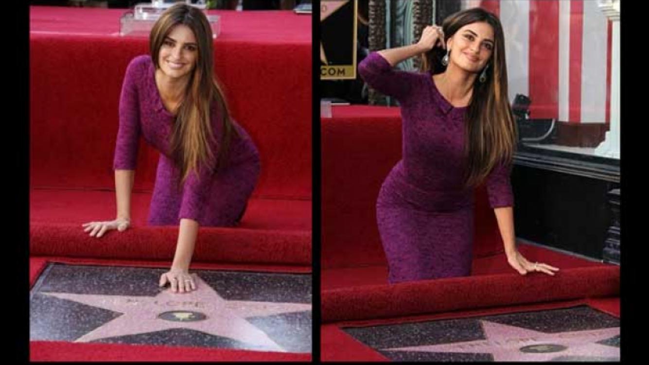 La mujer de Javier Bardem ya tiene su estrella en Hollywood (Foto: web)