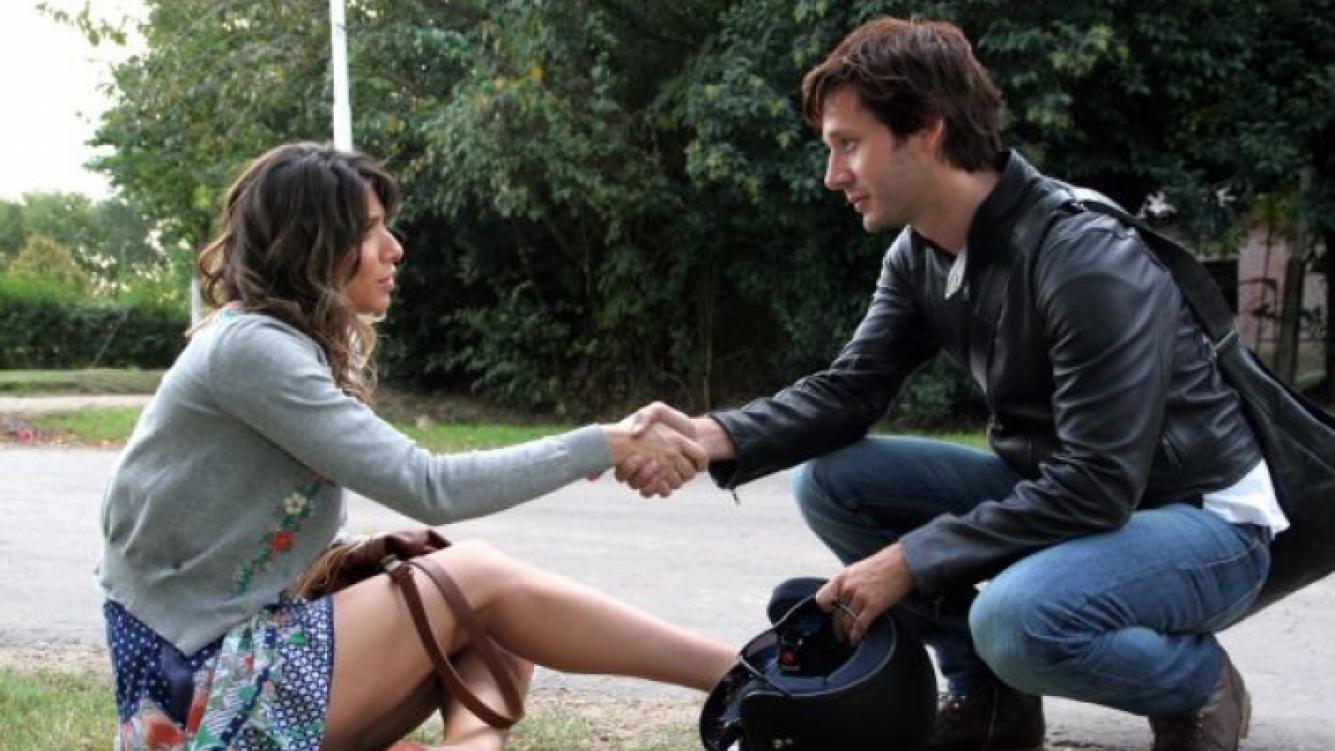 Romina Gaetani y Benjamín Vicuña en Herederos. (Foto: Pol-ka)