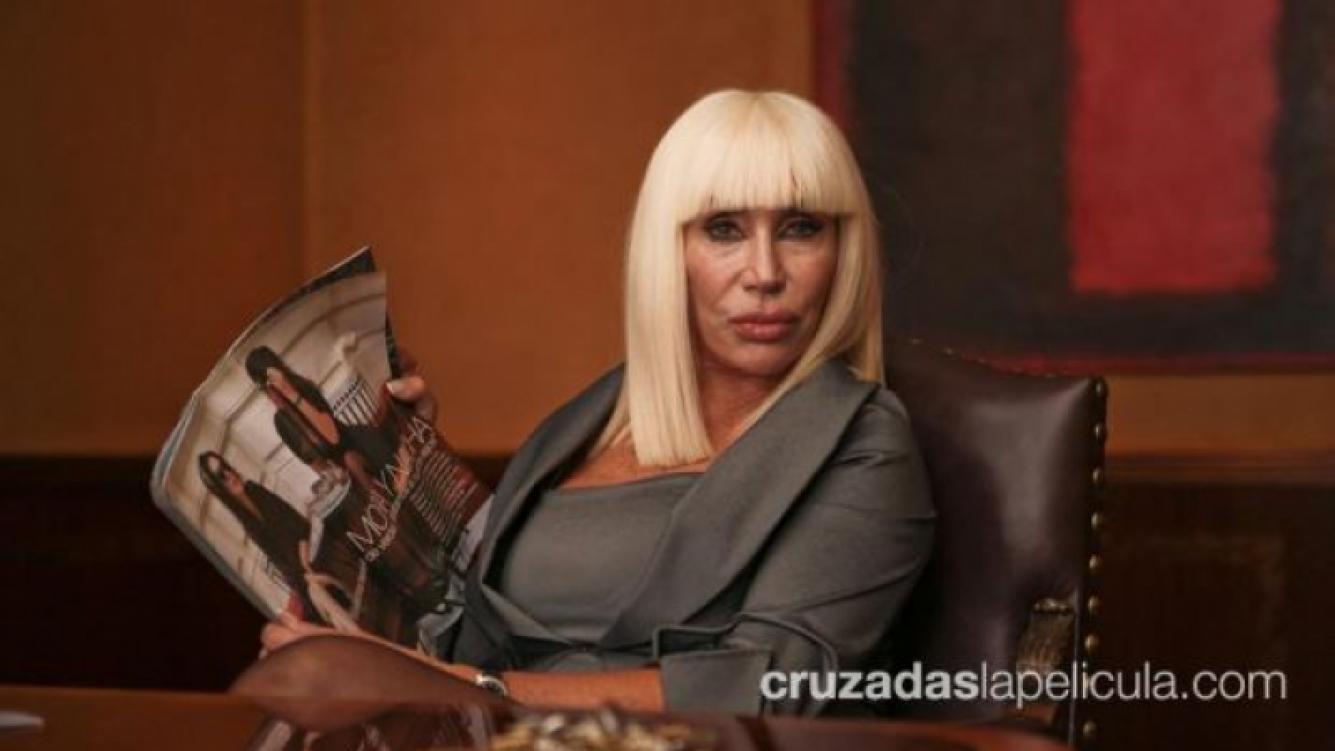 Moria Casán interpreta a Juana en Cruzadas. (Foto: Jénnifer Rubio)