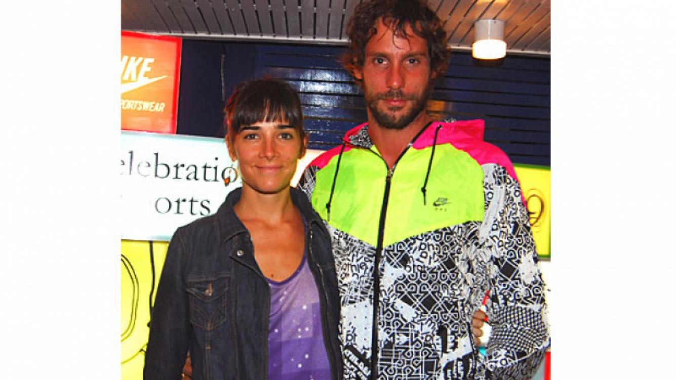 Juana Viale y Gonzalo Valenzuela en tiempos felices. (Foto: Web).