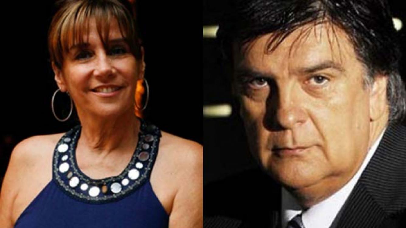 Marcela Tinayre y Luis Ventura. (Foto: Web)