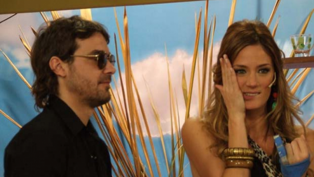 Pedro Peter Alfonso y Paula Chaves. (Foto: web)