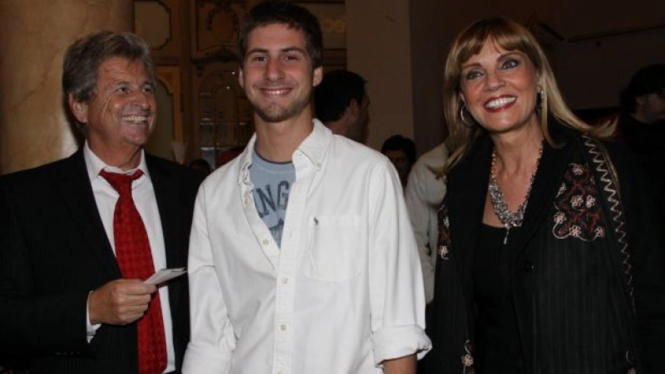 Teté Coustarot y Carlos Gaziglia, juntos. (Foto: prensa Alejandro Veroutis)