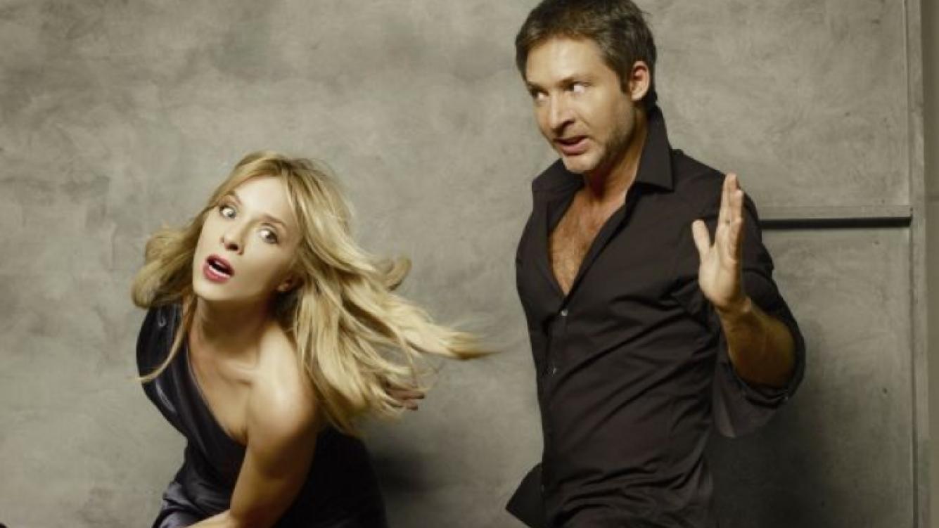 Carla Peterson y Adrián Suar protagonizarán La Guerra de los Roses. (Foto: Pol-ka)