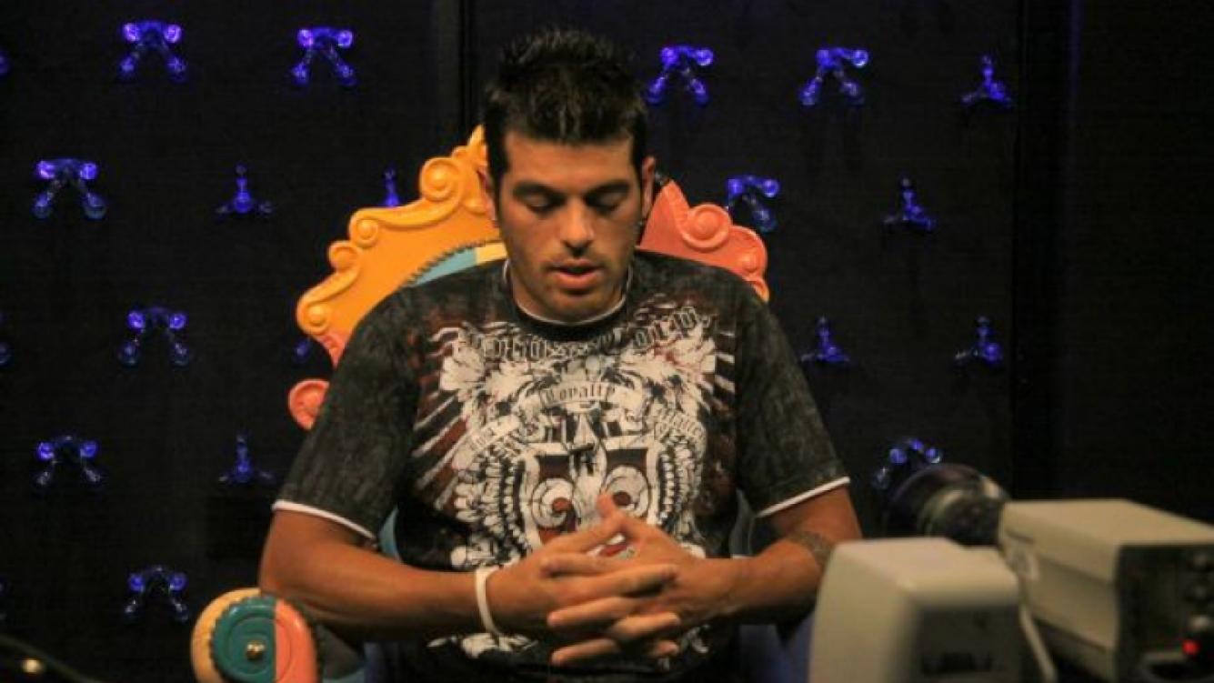 Cristian U. analiza el juego. (Foto: Telefe)