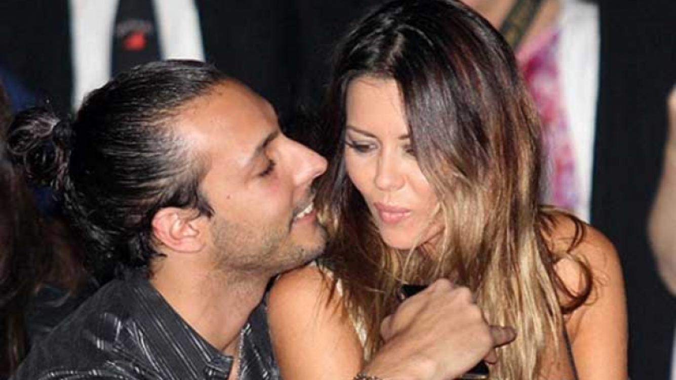 Karina Jelinek y Leonardo Fariña, a horas de casarse. (Foto: Web).