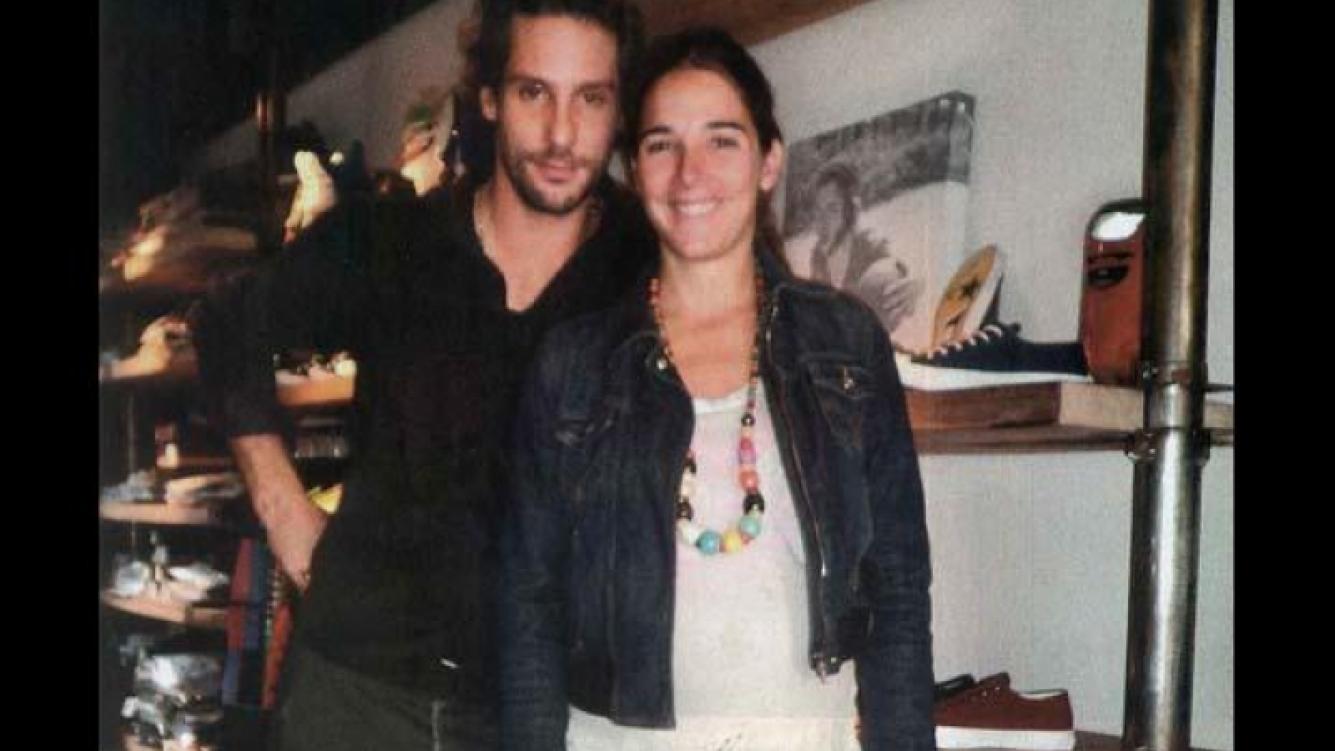 La última foto de Gonzalo y Juanita, juntos. (Foto: revista Gente)