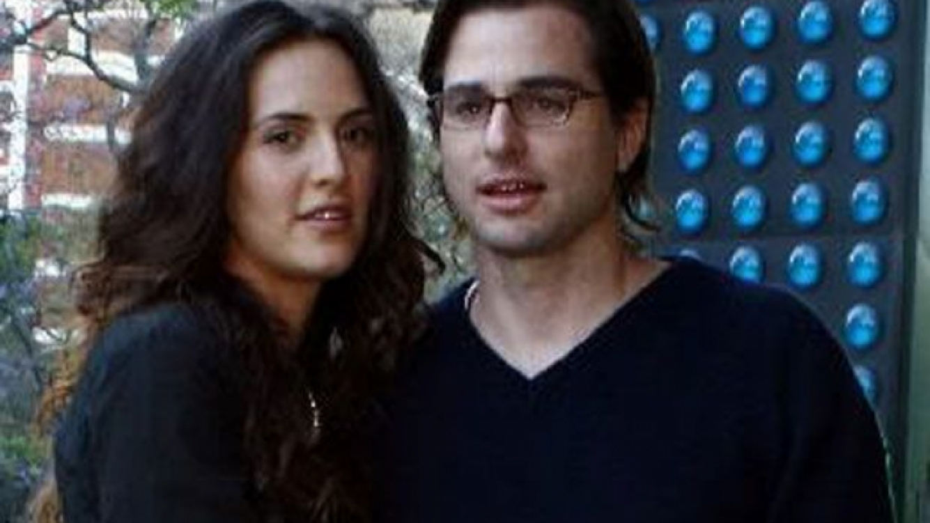 Julieta Díaz y Brent Federighi. (Foto: Web)