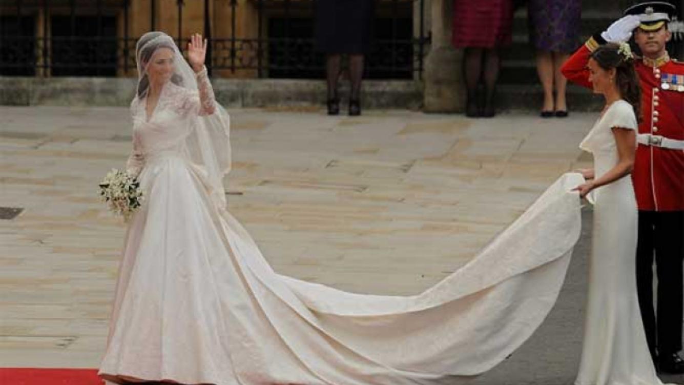 El secreto mejor guardado: El vestido de la princesa Kate. (Foto: El Mundo España)