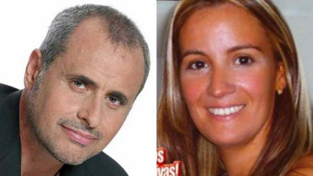 Jorge Rial y Mari, la novia de Cristian U. (Foto: Web)