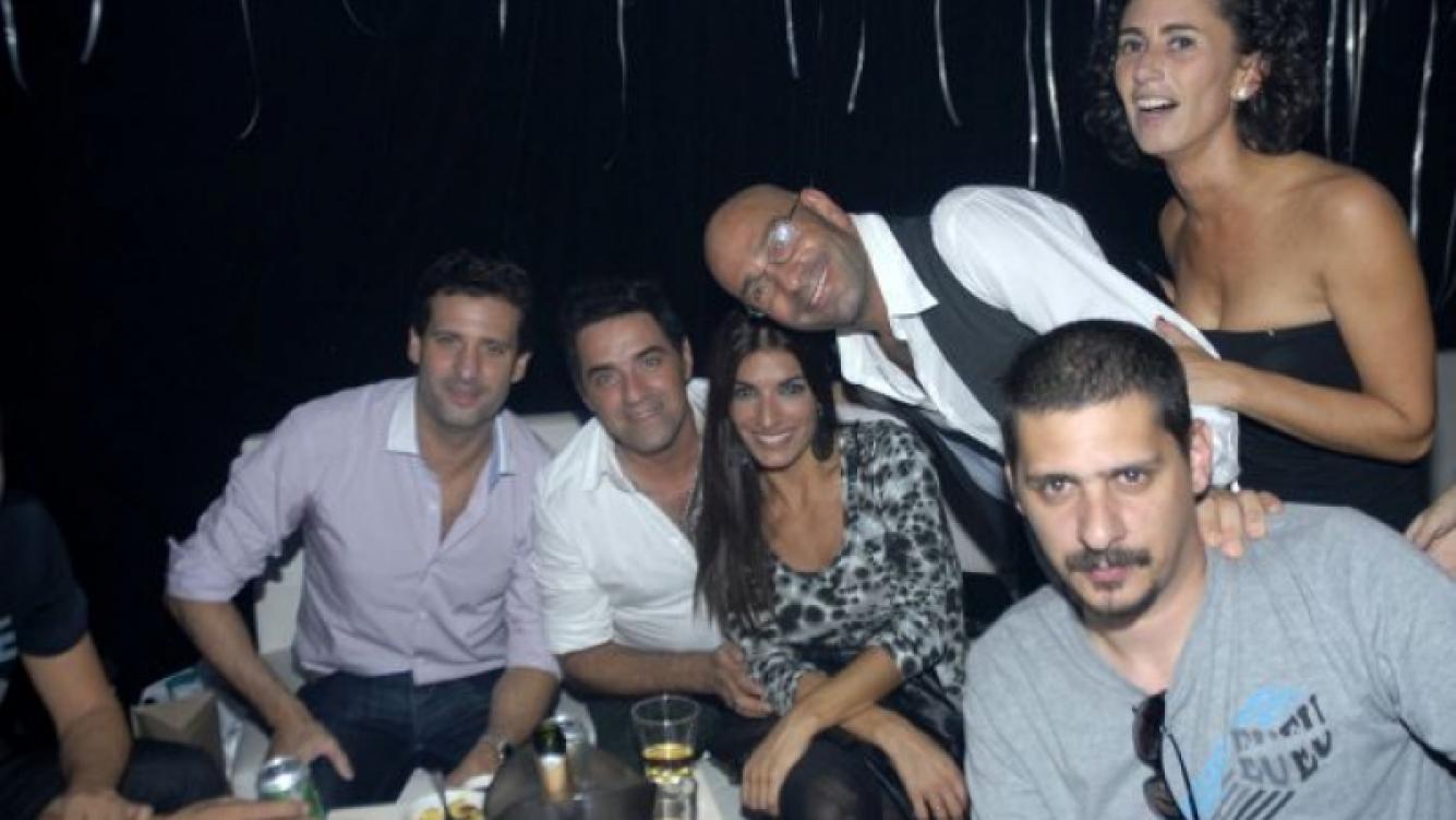 Freddy Villarreal y sus amigos. (Foto: Diego Otero).